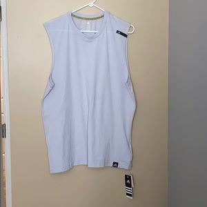 Adidas men's Large climate muscle tank NWT